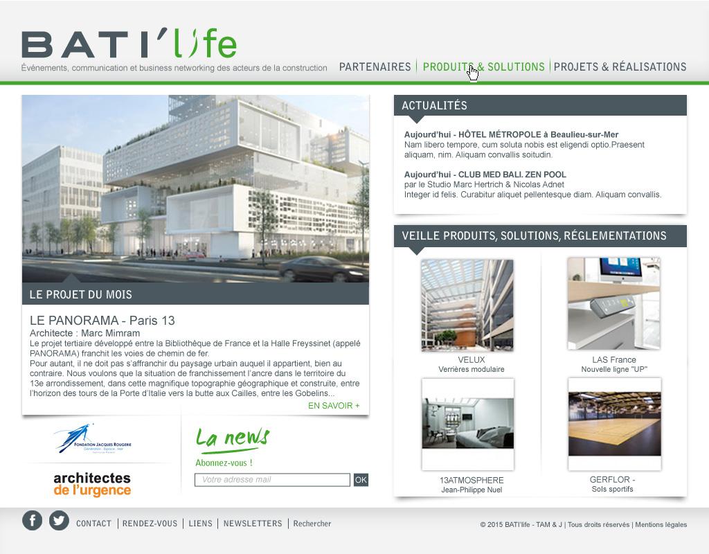 Homepage Bati'Life